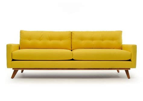 Yellow Couch Turquoise And Mid Century Modern Sofa On Modern Yellow Sofa