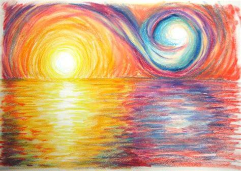 background design using oil pastel 7 best oil pastels images on pinterest drawing