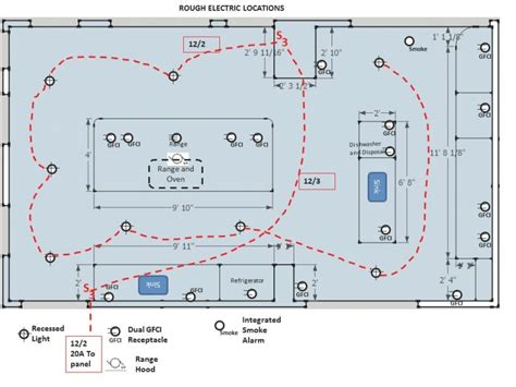 kitchen ring wiring diagram free wiring