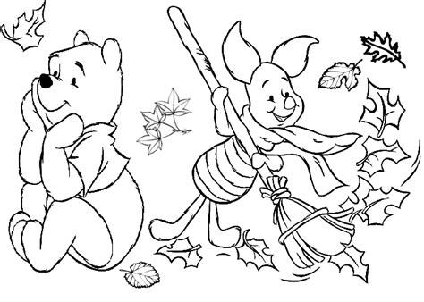 Autumn Season Coloring Pages Coloring Fall Coloring Pages