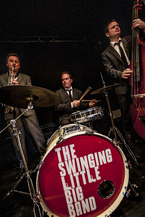 swinging little big band the swinging little big band about the band the swinging