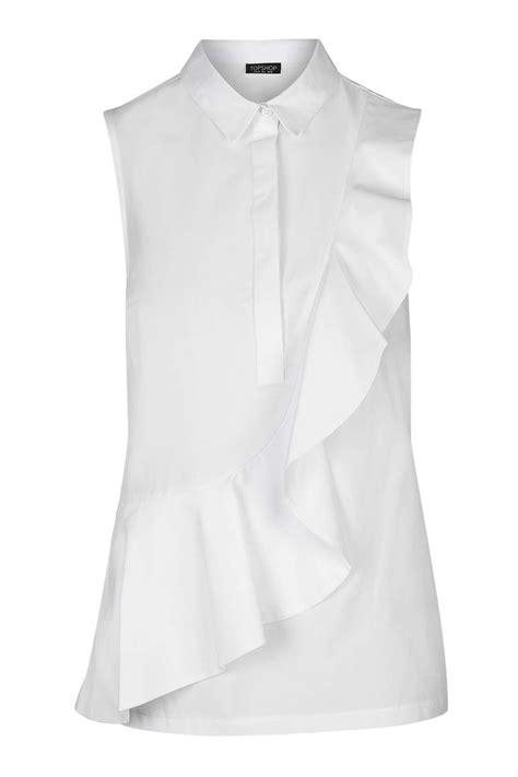 Ruffled Sleeve Shirt sleeve ruffle shirt tops clothing ruffle shirt