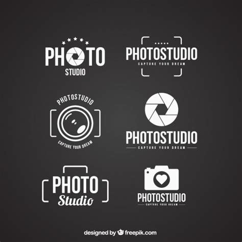 Photography Logo Vectors Photos And Psd Files Free Download Free Psd Logo Templates For Photographers