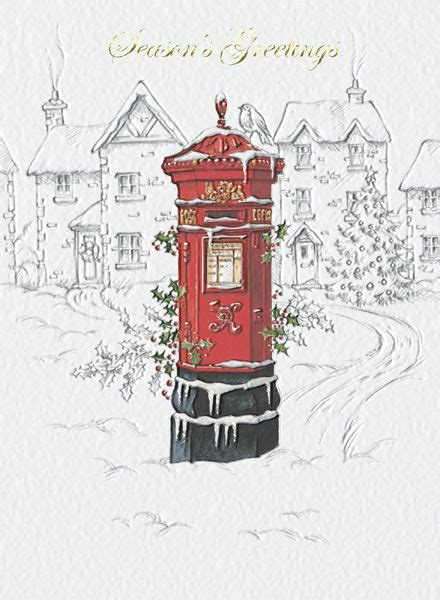 village victoria postbox uk  lovely pencil sketch village scene  printed   quali