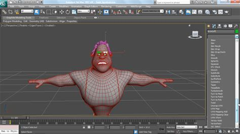 Custom Kitchen Design Software modeling a character in 3ds max