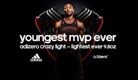 basketball shoe ads an adidas ad showing derrick holding up a pair of