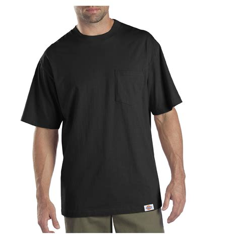 dickies s big and sleeve pocket t shirts 2