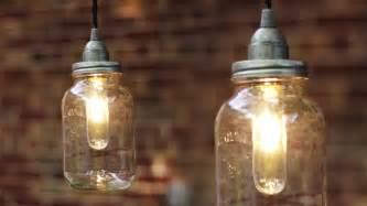 How To Make A Chandelier Cord Cover Diy Mason Jar Light Lantern Youtube