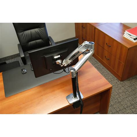 ergotron monitor desk mount lx sit stand desk monitor arm ergotron 45 360 026
