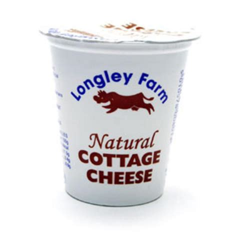 cottage cheese in 125g from longley farm
