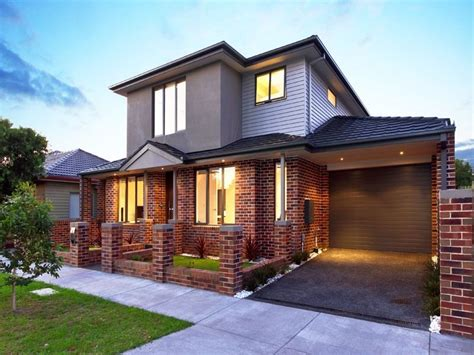 brick house designs australia photo of a brick house exterior from real australian home house facade photo 611391