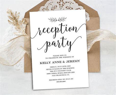 Wedding Reception Program Cards