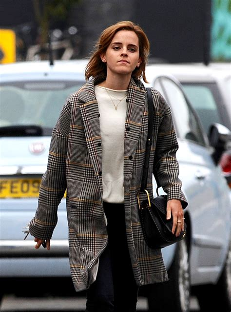 emma watson house london emma watson out and about in london