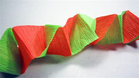 como se hacen las cadenas con papel crepe c 243 mo hacer un banderin o decoraci 243 n para fiestas con papel