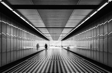 White Corridor along the corridor high resolution photography