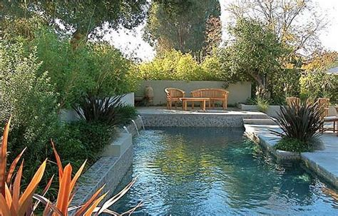 lap pools for narrow yards landscaping ideas and water and garden in a small space the weaver residence by