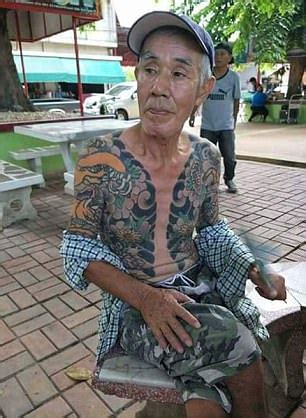 yakuza boss arrested after photo of tattoos go viral