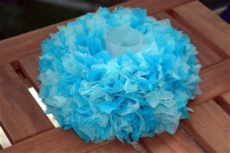 How To Make Centerpieces With Tissue Paper - 25 best ideas about tissue paper centerpieces on