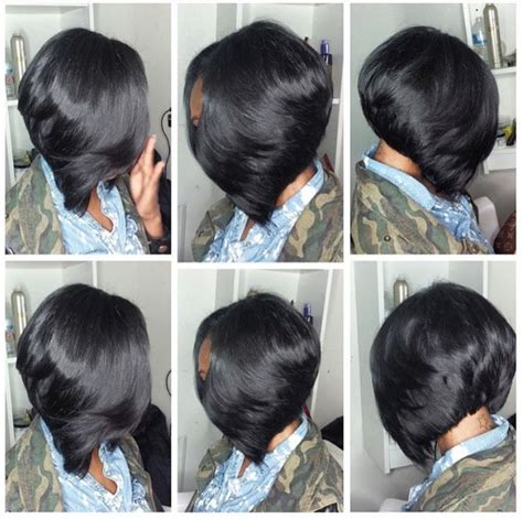 layered bob sew in hairstyles for black women for older women 25 best ideas about bob sew in on pinterest weave bob