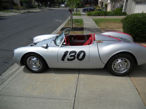 1955 porsche spyder replica porsche 550 spyder beck replica 1955 for sale photos