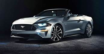 Ford Mustang Convertable 2018 Ford Mustang Convertible Revealed Photos 1 Of 3