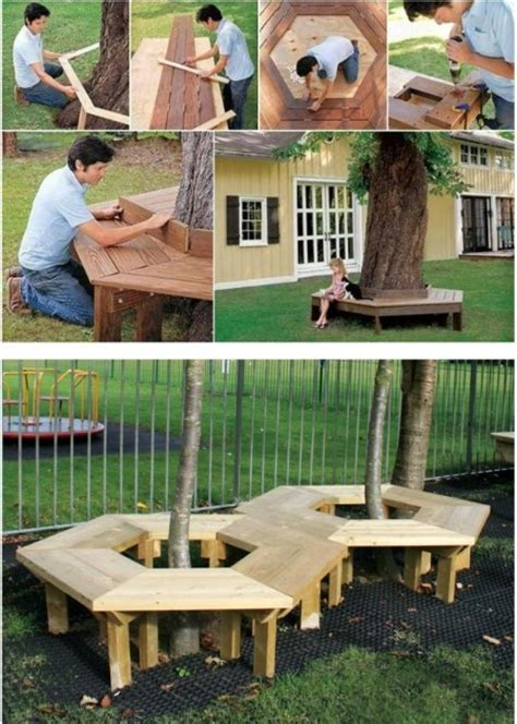 diy tree bench 150 remarkable projects and ideas to improve your home s