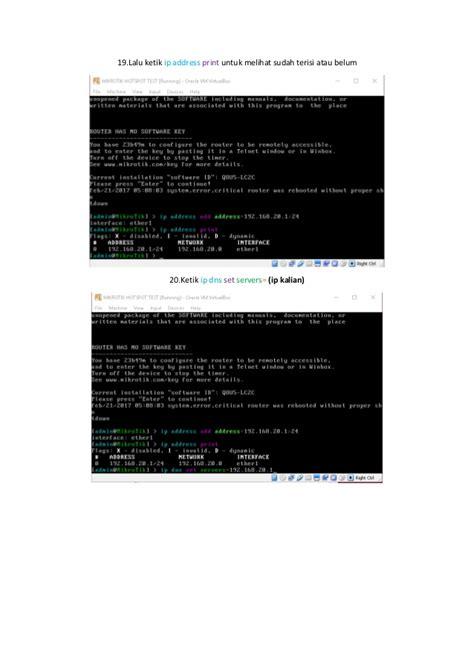 belajar membuat hotspot mikrotik langkah langkah membuat hotspot mikrotik di virtualbox