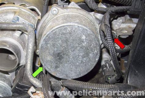 mini cooper  vacuum pump replacement   pelican parts diy maintenance article