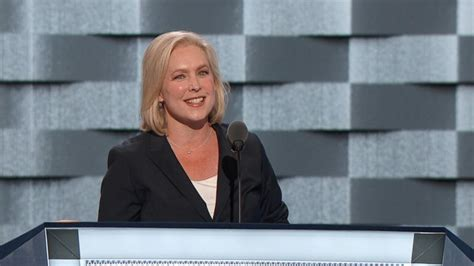 kirsten gillibrand video kirsten gillibrand at the dnc hillary clinton gets it