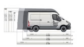 Renault Master Dimensions Abmessungen Renault Master Renault 214 Sterreich