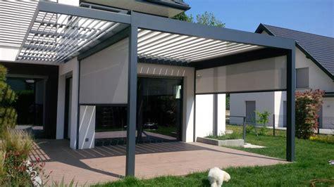 veranda bioclimatica pose achat de v 233 randa et pergola bordeaux et bassin d