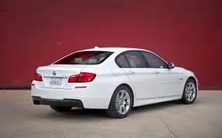 2012 bmw 528i rear three quarters photo 2