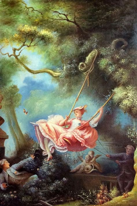 the swing jean honore fragonard reproduction painting the swing