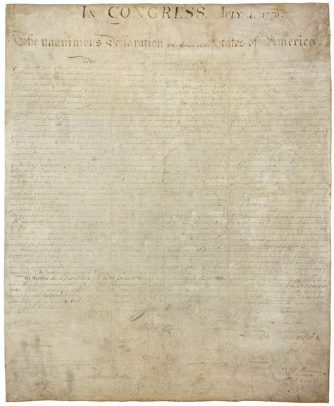 printable declaration of independence are we reading one of the declaration of independence s