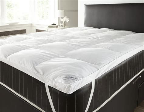 Super King Size Bed Feather And Black Goose And Down Feather Mattress Topper Single Double King