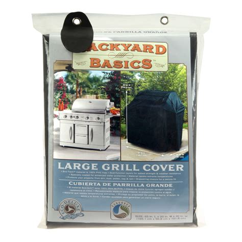 backyard grill cover stone bbq supplies mr bar b q backyard basics grill cover