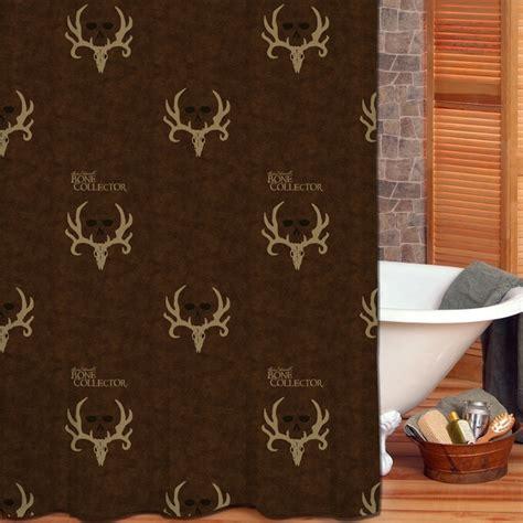 bone collector shower curtain camo bathroom decor bone collector shower curtain camo