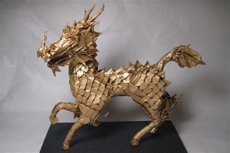 Origami China - origami models from culture and mythology