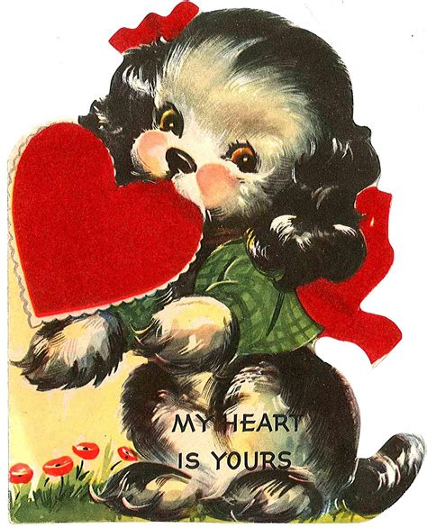 morning sparrow vintage valentines