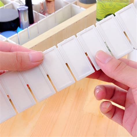 Clap Board Diy 6x adjustable drawer clapboard partition divider cabinet diy storage organizer lazada malaysia