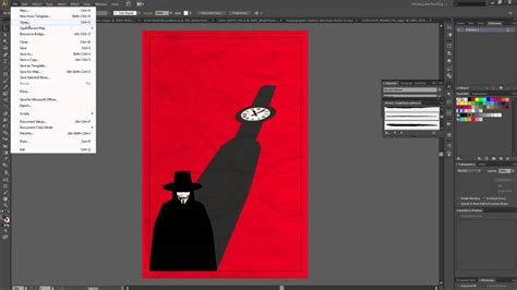 Illustrator Tutorial Movie Poster | how to create alternate movie poster illustrator youtube