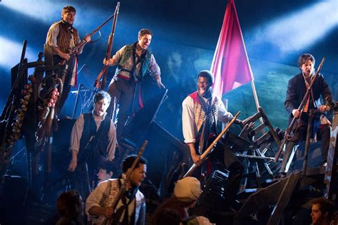 les miserables les miserables leads broadway to record labor day sales