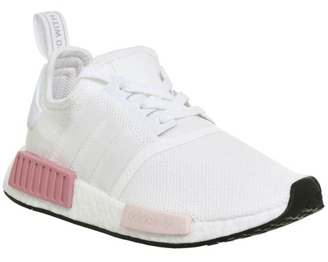 adidas nmd  white icey pink trainers shoes ebay