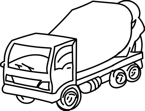 concrete truck coloring page cement truck coloring coloring pages