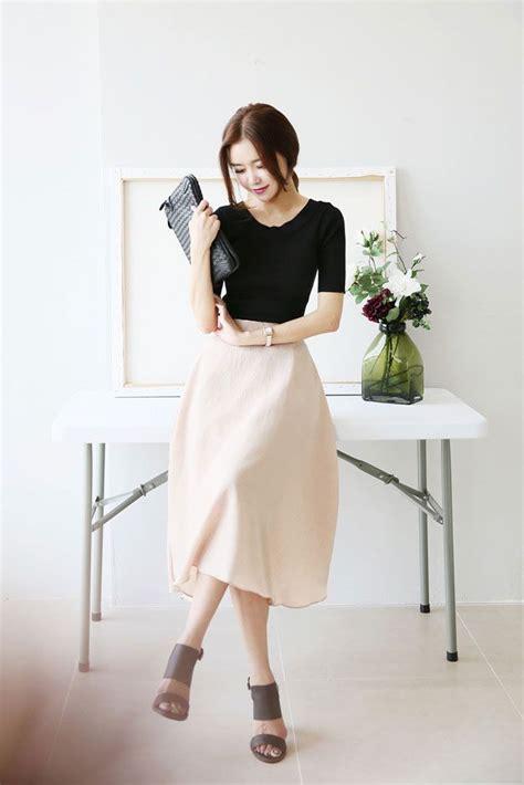 Band Waist Flare Skirt best 25 flare skirt ideas only on classic