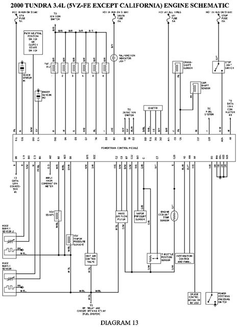 For A 2000 Toyota Tundra Wiring Diagram All Diagram