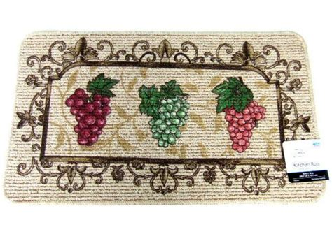 grape kitchen rugs grape themed kitchen rug burgundy green grapes