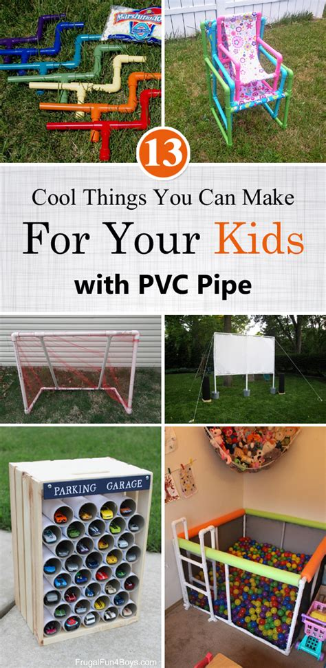13 awesome things you can make with popsicle sticks 13 cool things you can make for your kids with pvc pipe