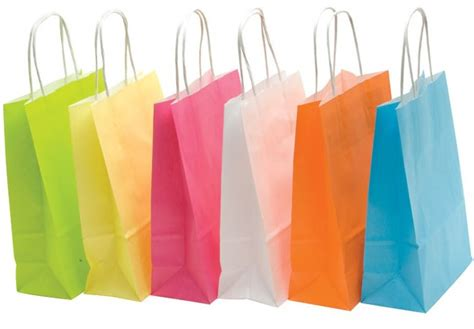How To Make Eco Friendly Paper Bags - printed carrier bags