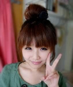 Ikat Rambut Sanggul Mini Cepol Black Brown Light Brown Ars bun by s cawaii cawaii hair extension no 1 japanese clip on hair extension for